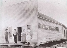 Photo Credit: FILE PHOTO - In its early years, the Madras Pioneer was housed in a wooden building on Sixth and D streets. The 110-year-old paper has been owned by a U.S. congressman (Denny Smith), Oregon governor (Elmo Smith), a state representative and Madras mayor (Howard Turner).