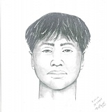 Photo Credit: PORTLAND POLICE BUREAU - Sketch of suspect who touched woman in her home on Monday.