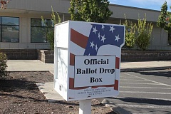 Photo Credit: HOLLY M. GILL - Ballots for the Nov. 4 election will be mailed out Oct. 17, and can be returned to a drop box, such as the box located at the Jefferson County Courthouse Annex, or returned to the County Clerk's Office.