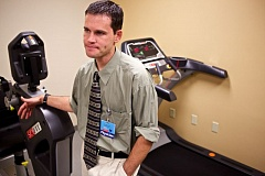 Photo Credit: TIMES PHOTO: JAIME VALDEZ - Dr. Jon Buchanan is a key physician in the new Concussion Program in Legacy Healths Sports Medicine and Orthopedics division.