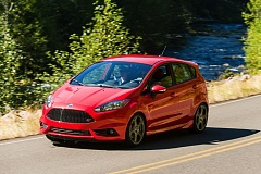 Photo Credit: DOUG BERGER/NWAPA - The hot little Ford Fiesta ST in Central Oregon during the 2014 Run to the Sun event held by the Northwest Automotive Press Associaion.
