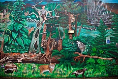Photo Credit: CONTRIBUTED PHOTO: RACC - Robin Corbo's 2011 BARK Mural at 4601 S.E. Powell Blvd.