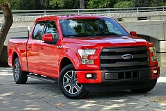 Photo Credit: COURTESY FORD MOTOR COMPANY - The all-new 2015 Ford F-150 with an all aluminum body will be a big draw at the Portland International Auto Show in February.