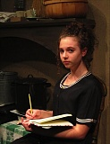 Photo Credit: CONTRIBUTED PHOTO - Rae Taylor plays the lead character in The Diary of Anne Frank, based on the book of same name discovered after Frank perished in the Holocaust.