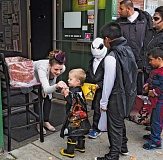Photo Credit: NEWS-TIMES FILE PHOTO - Local trick-or-treaters are invited to downtown Forest Grove for candy and treats this Friday afternoon, Oct. 31.