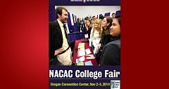 (Image is Clickable Link) NACAC College Fair 2014