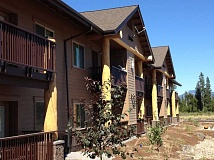Photo Credit: CONTRIBUTED PHOTO - The IronHorse Lodge will resemble Little Deschutes Lodge II, in La PIne, (shown here) but feature some ranch elements as well.
