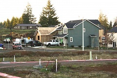 Photo Credit: POST PHOTO: KYLIE WRAY - The Snowberry development, off Highway 211, is one that has taken off this year in Sandy. Other areas where residential homes are going up are Sandy Bluff, Deer Pointe and Salmon Creek Estates.