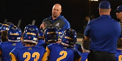 Photo Credit: TIMES FILE PHOTO - Aloha head coach Bill Volk said the Warriors will reach the playoffs next season, a year after finishing toward the bottom of the Metro League.