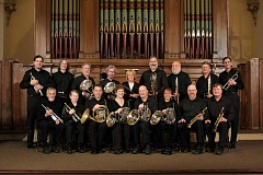 Photo Credit: CONTRIBUTED PHOTO - The Solid Brass Ensemble consists of trumpeters, trombonists, tuba players and French horn players.