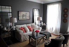 Photo Credit: SUBMITTED PHOTO - Gray is a versatile color that coordinates beautifully with a wide range of hues. As a result, it can be used in many different color schemes and with almost any style of décor.