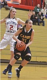 Photo Credit: HERALD FILE PHOTO - Skylee Doman returns as the Cougars starting point guard.