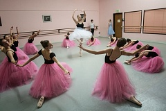 Photo Credit: THE TIMES: JONATHAN HOUSE - Dancers rehearse 'A Nutcracker Tea' at the June Taylor School of Dance in Tualatin.