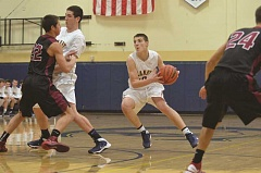 Photo Credit: HERALD FILE PHOTO - Jace Cates scored 15 points against Churchill and 25 against South Eugene.