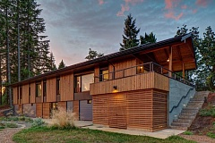 Photo Credit: COURTESY OF HAMMER AND HAND - This Passive House in North Plains consumes 90 percent less energy than traditional homes.