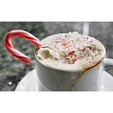 Candy Cane Cocoa would be a welcome treat for Santa along with the cookies you leave.