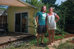 Photo Credit: TRIBUNE PHOTO: JONATHAN HOUSE - For Airbnb proprietors like Rachel Robinson and her partner Joseph Culhane, if they get a license, theyll be legal in the citys eyes. However, for Airbnb hosts who have an apartment or condominium, a final decision has been delayed until January.
