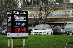 Photo Credit: REVIEW PHOTO: VERN UYETAKE - Albertsons has operated its store on South State Street in Lake Oswego since 1990. Theres no word yet on what might replace it.