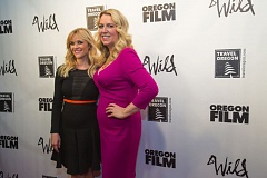 Photo Credit: TRIBUNE PHOTO: JONATHAN HOUSE - 'Wild' author Cheryl Strayed with star Reese Witherspoon on the red carpet during the film's Dec. 8 premiere at Cinema 21. Strayed wil be a guest at Tuesday night's State of the Union address in Washington, D.C.