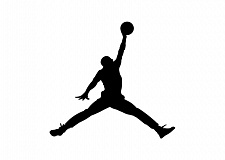 Photo Credit: COURTESY OF NIKE INC. - Nike's 'Jumpman' image has been used since the mid-1980s on all kinds of athletic apparel. A photographer who took the original 1984 photo of Michael Jordan leaping into the air says Nike infringed on his copyright for the image.