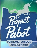 Photo Credit: KOIN 6 NEWS - The Pabst Brewing Company used this image whch looks a lot like the former White Stag sign to promote a music festival last year.