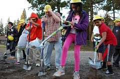 Photo Credit: CITY OF GRESHAM - Friends of the Children broke ground on its Rockwood facility last week.