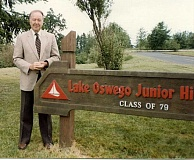 Photo Credit: SUBMITTED PHOTO - Dale Reynolds was a longtime administrator in the Lake Oswego School District, serving as principal of Lake Oswego Junior High and Lakeridge Junior High (when it was called Waluga).