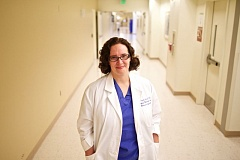 Photo Credit: TIMES PHOTO: JAIME VALDEZ - Dr. Megan Bird is a gynecologist with Legacy Medical Group and specializes in transgender care.