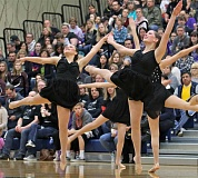 Photo Credit: SPOKESMAN PHOTO: J. BRIAN MONIHAN - Canby High School's Winter Festival of Dance was the first step for the Pride on its journey toward the state competition.