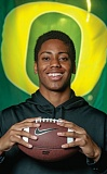 Photo Credit: COURTESY OF MICHAEL GOULDING/ORANGE COUNTY REGISTER - Travis Waller, a quarterback from Servite High in Anaheim, Calif., signed a letter of intent last week with the Oregon Ducks.