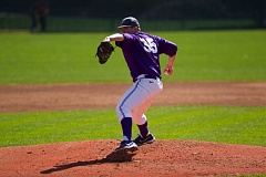 Photo Credit: COURTESY OF UNIVERSITY OF PORTLAND - Kurt Yinger, a right-hander from Camas, Wash., is one of the top returning pitchers for the 2015 Portland Pilots, who launched their season on the road last weekend.