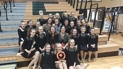 Photo Credit: SUBMITTED PHOTO - The District Dancers are West Linn-Wilsonville's middle school dance team.