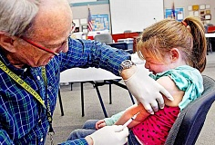 Photo Credit: PAMPLIN MEDIA GROUP - Painful truth - More than 3,300 Oregonians claimed an exemption from vaccinations for religious or philosophical reasons in 2014.