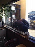 Photo Credit: SUBMITTED PHOTO - Tualatin police investigate a robbery that occurred at Arby's in Tualatin on Saturday.