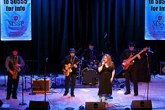 Photo Credit: FILE PHOTO - Master of ceremonies Rae Gordon is Cascade Blues Association's Best Female Vocalist for 2014.
