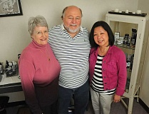 Photo Credit: STAFF PHOTOS: VERN UYETAKE - From left are Chiropractic Physician Joan Schultze, Reflexologist/Reiki practitioner Craig Ronshausen and Esthetician Debbie Kho. The three wellness professionals share office space at 543 Third St., Suite A-3 in Lake Oswego.