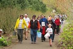 Photo Credit: SUBMITTED PHOTO - More than 300 people of all ages participated in last years Walk4Water7, which raised $61,000 for WaterAfrica.