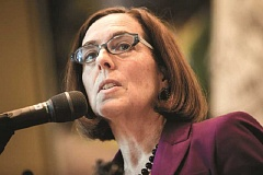 Photo Credit: PAMPLIN MEDIA GROUP  FILE PHOTO - Gov. Kate Brown entered the office with more experience than her predecessors, but with little advance notice to forge a policy agenda.