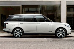 TATA MOTORS - The 2015 Range Rover Supercharged LWB makes a statement - I've got mine.