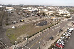 SUBMITTED PHOTO - Former Westgate Theater site