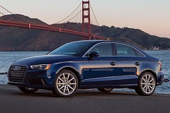 AUDI PRESS AG - The redesigned 2015 Audi A3 looks like a scale model of the company's larger cars, not a typical compact.