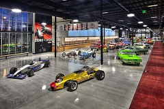 COURTESY WORLD OF SPEED - Races and high performance cars will be on permanent and rotating display when the World of Speed opens on April 24.