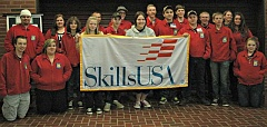 ESTACADA NEWS PHOTO: ISABEL GAUTSCHI - These Estacada High School students are headed to Camp Withycombe to compete in a state SkillsUSA competition April 17 and 18.
