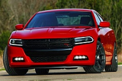 CHRYSLER LLC - The new, larger grill is the most obvious change to the exterior of the 2015 Dodge Charger.