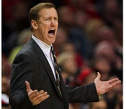 TRIBUNE FILE PHOTO: TROY WAYRYNEN - Trail Blazers coach Terry Stotts didn't have the benefit of good shooting from his team in Sunday's Game 1 versus Memphis.