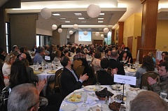 SUBMITTED PHOTO - Guests fill the room for Parrott Creeks first annual luncheon last year; this year's event takes place on May 7 at the Abernethy Center.