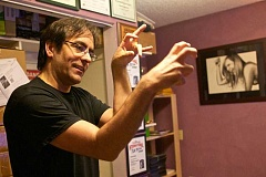 TIMES FILE PHOTO - Tigards Edward Martin III has been making horror films for more than a decade. One of his first is finally making its way to the big screen with its world premiere at the Joy Cinema on Saturday.
