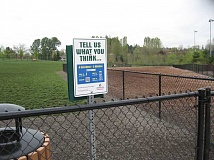 SUBMITTED PHOTO - Tualatin Hills Park & Recreation District has posted Opiniator stations at key spots around the district to collect patron feedback.