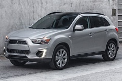 MITSUBISHI MOTORS - The exterior of the 2015 Mitsubishi Outland Sport is clean and contemporary.