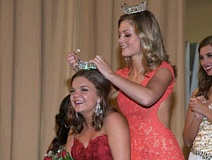 CONTRIBUTED PHOTO - Prineville's Stephanie Forrester was crowned Miss Southern Gem, earning the right to compete in the upcoming Miss Oregon pageant